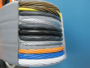 Traveling Cable for The Elevator Use, Lift Cable pictures & photos