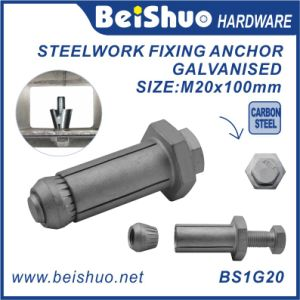 Heavy Duty Fastener Anchor Bolt Projecting M20 Expansion Anchor for Steel pictures & photos