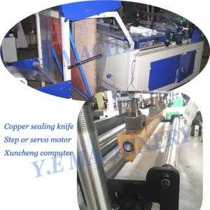 Automatic Double Layer Four Rolls Shopping Bag Making Machine pictures & photos