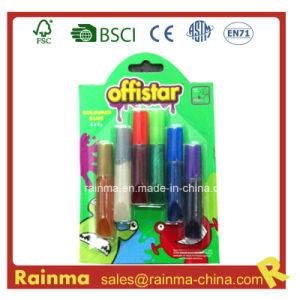 6ml Glitter Glue for School Stationery pictures & photos