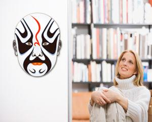Peking Opera Mask Sticker (TP-073-28)