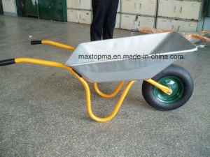 Heavey Duty Construction Zinc Plated Garden Wheel Barrow (WB4600) pictures & photos
