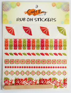 Unique Summer Holidays Rub on Transfer Sticker/ Rub Ons for Scrapbooking pictures & photos