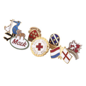 Factory Wholesale Top Quality Traditional Hard Enamel Badge with Customized Design Made in China