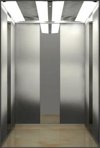800kg Passenger Elevator with Mirror Etching Stainless Steel pictures & photos