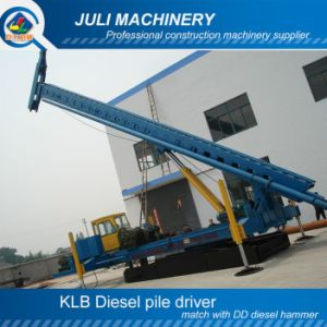 Diesel Pile Driver Machine, Expansion Arm Hydraulic Press Pile Driver