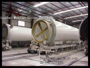 Large Wind Power Tower for Wind Turbine Generator pictures & photos
