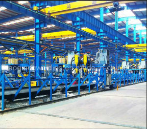 H Section Steel Welding Production Line for Building Material pictures & photos