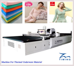 Fabric and Sheets Automatic Cloth Cutting Machine Industrial Fabric Cutting Machine Fully Automatic Garment/Textile/Fabric Cutting Machine pictures & photos
