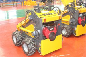 New Mini Skid Steer Loader Hy380 with Attachment pictures & photos