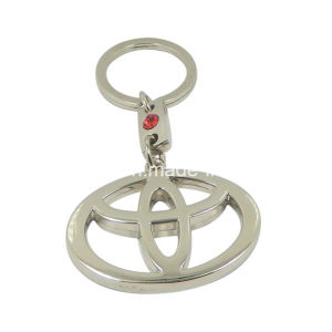 Custom Metal Keyrings Manufacturer Car Logo Shaped Metal Keychain pictures & photos