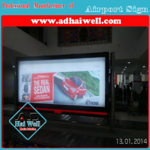 Airport Media Digital Scrolling Light Box pictures & photos