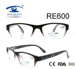 Gradient Two Side Different Pattern Reading Glasses (RE600) pictures & photos
