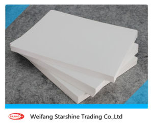Virgin White Coated Ivory Board for Printing Magazine
