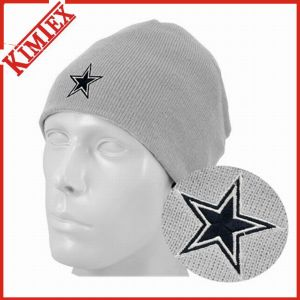 Fashion Acrylic Knitted Jacquard Embroidery Beanie Hat pictures & photos