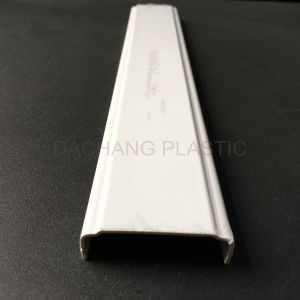 UPVC Extrusion Profile with Notching pictures & photos