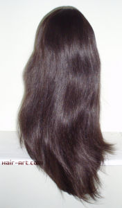 """Top Fashion Human Hair Jewish Wigs with Hair Length 24"""" pictures & photos"""