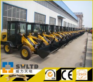Swltd Brand CE Certificated Agricultural Small Wheel Loader pictures & photos