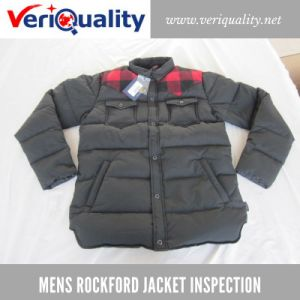 Mens Rockford Jacket Quality Control Inspection Service at Dezhou, Shandong pictures & photos