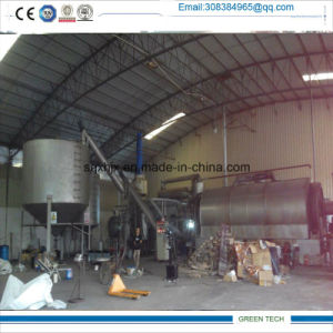 Aufo Feeding Semi-Continuous Pyrolysis Tire Recycling Machine pictures & photos