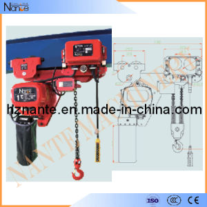Low Headroom Electtric Chain Hoist pictures & photos