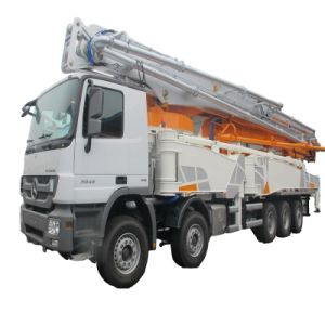 Zoomlion Mounted Concrete Boom Pump 25m Concrete Truck with Pump pictures & photos