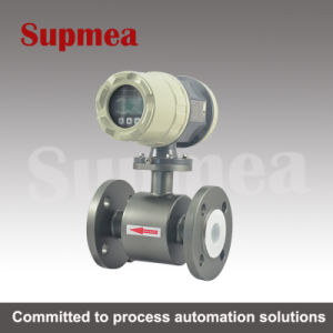 Supmea Electromagnetic Flow Meters with LED Display Used for Chemical Water pictures & photos