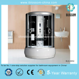 Luxury 5mm Grey Glass Massage Shower Room Steam Cabin (BLS-9852) pictures & photos