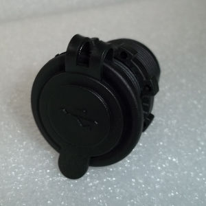Dual USB Charger for Car Motorcycle Auto Cigarette Lighter Socket (DS2013-2) pictures & photos