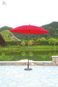 Pation Umbrella Outdoor Umbrella Garden Umbrella with Fiberglass Umbrella (Hz-S040) pictures & photos