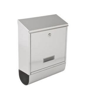 Stainless Steel Post Box