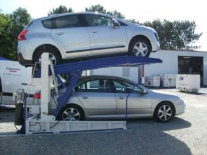 Two Post Hydraulic Tilting Car Parking Lift DEP606 Ce pictures & photos