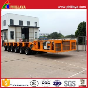 6 Modules 150 Tons Hydraulic Self Propelled Modular Trailer pictures & photos