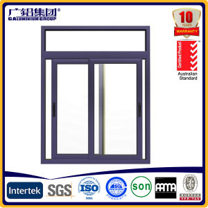 Horizontal Aluminium Sliding Windows for Apartment pictures & photos