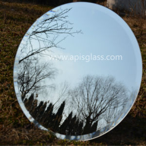 6mm Round Frameless Polished/Beveled Edges Sliver Furniture/ Makeup Mirror /Wall Mirror pictures & photos