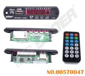 USB SD Card MP3 Decoder Board 12V (00570047) pictures & photos