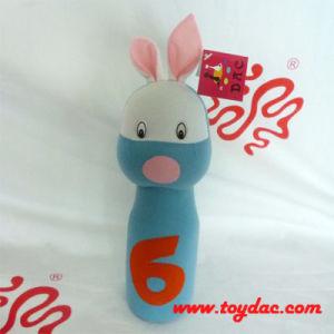 Plush Blue Rabbit Plush Bowling Toy pictures & photos