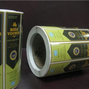 Self Adhesive Label for Plastic and Glass Bottles Cans pictures & photos