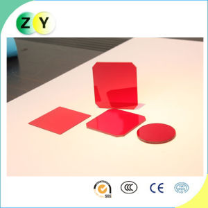 Red Filter, Optical Glass, Optical Filter, RG6 pictures & photos