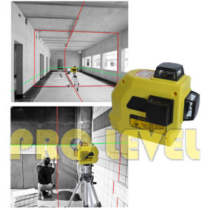 Alignment 360-Degree 3-Plane Leveling Laser Level (SW-99TG2R) pictures & photos