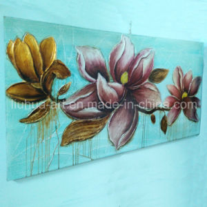 New Design Modern Decoration Flower Oil Painting Big Size (LH-254000) pictures & photos