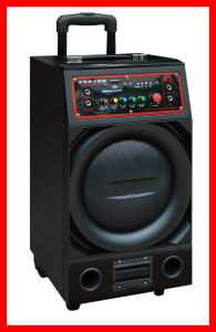 "10"" Professional Speaker Built-in 60W High-Power Battery USB, SD (PS-1004)"