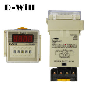 Dh48s Digital Display Time Relay