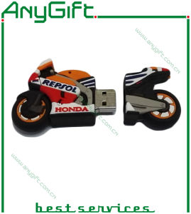 Customized Shaped PVC USB Stick with One-Class Chip 10 pictures & photos