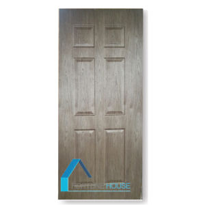 Horizontal and Vertical Okoume Veneer Molded Plywood Door Skin pictures & photos