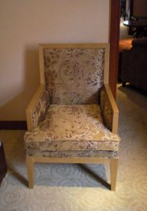 Hotel Chair/Solid Wood Frame Chair/Writing Chair (GLC-020)