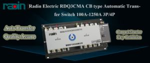 100 AMP Automatic Transfer Switch, 100A Auto Transfer Switch (RDQ3CMA) pictures & photos