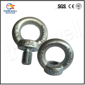 Forged Galvanized Lifting Eye Screw DIN 580 Eye Bolt pictures & photos