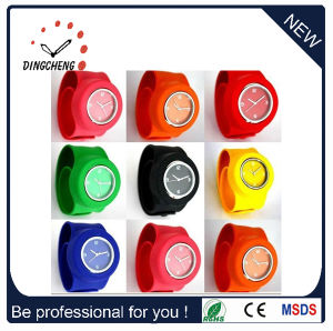 Lady′s Electronic Digital Silicone Sports Wrist Watches (DC-099) pictures & photos