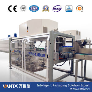 Lmb35t Automatic Film with Tray Wrapper Shrink Wrapping Machine